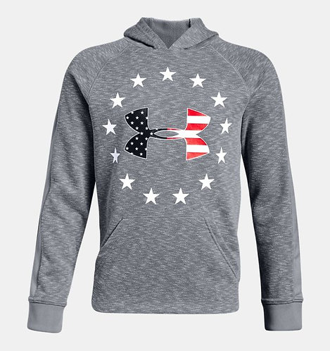 UA 1323171 Freedom Tech™ Terry Boys' Hoodie