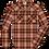Thumbnail: Ely Assorted Plaid Long Sleeve Western Shirt