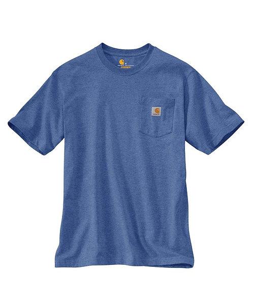 Carhartt Workwear Pocket T-Shirt I35 Blue Dusk Heather