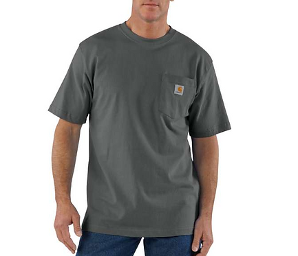 Carhartt Workwear Pocket T-Shirt CHR - Charcoal