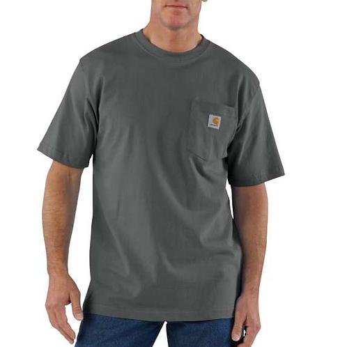 Carhartt Workwear Pocket T-Shirt CHR - Charcoal