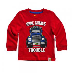 Carhartt Infant/Toddler Boy Here Comes Trouble Tee