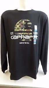 Carhartt 102878 Lubbock Graphic Filled Flag Long Sleeve T-Shirt