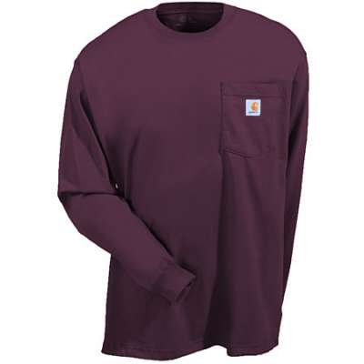 CARHARTT K126PRT WORKWEAR LONG-SLEEVE POCKET T-SHIRTPORT