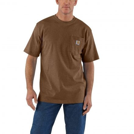 Carhartt Workwear Pocket T-Shirt 219-Barrel Heather