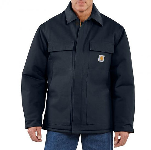 CARHARTT C003 DUCK TRADITIONAL COAT / ARCTIC QUILT LINED