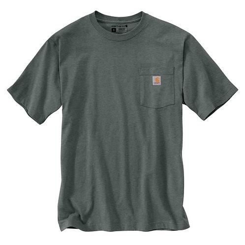 Carhartt Workwear Pocket T-Shirt K87-354 Elm Heather