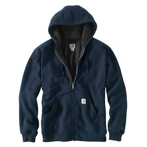 CARHARTT 100632 RAIN DEFENDER® RUTLAND THERMAL-LINED HOODED ZIP-FRONT SWEATSHIRT