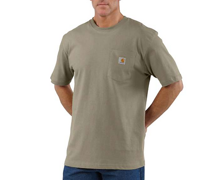 Carhartt Workwear Pocket T-Shirt DES - DESERT