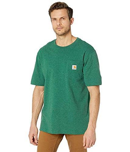 Carhartt Workwear Pocket T-Shirt K87-G55 North Woods Heather