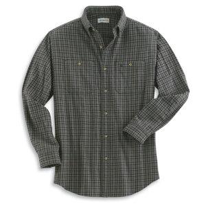 Carhartt Long Sleeve Midweight Flannel Plaid Shirt