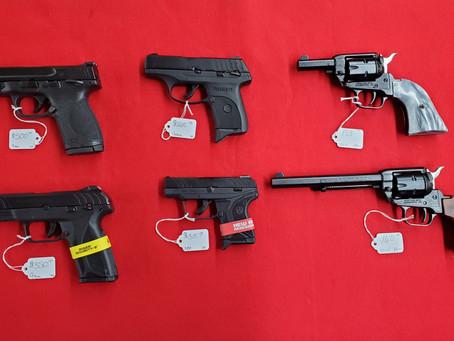 New handguns!