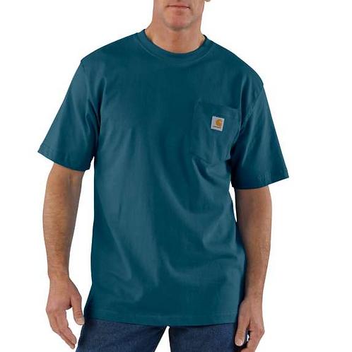 Carhartt Workwear Pocket T-Shirt 984 - Stream Blue