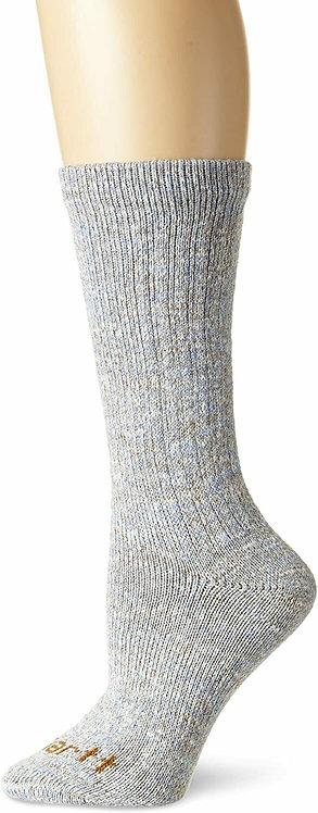 Carhartt Women's Rainbow Twist Hiking Crew Socks WA309 BLUE