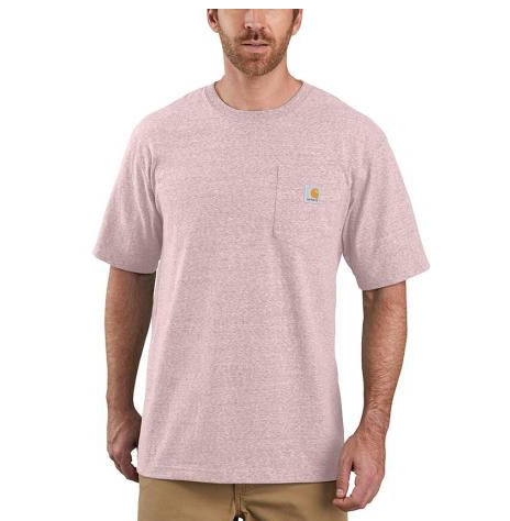 Carhartt Workwear Pocket T-Shirt K87-V20 Crepe Snow Heather