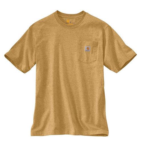 Carhartt Workwear Pocket T-Shirt Y12 Yellowstone Heather