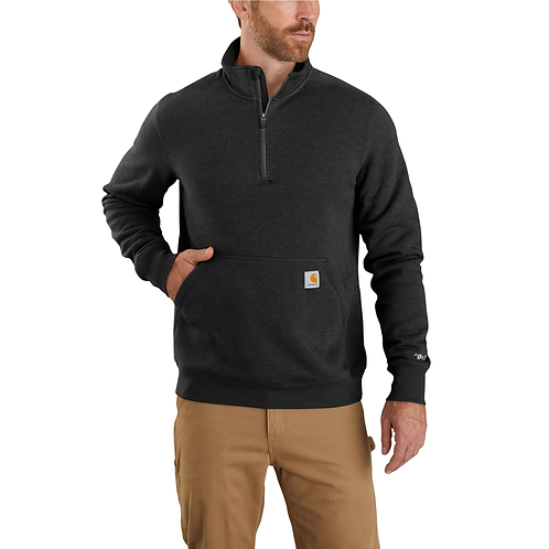 CARHARTT 104475 CARHARTT FORCE® RELAXED FIT MIDWEIGHT 1/4 ZIP POCKET SWEATSHIRT