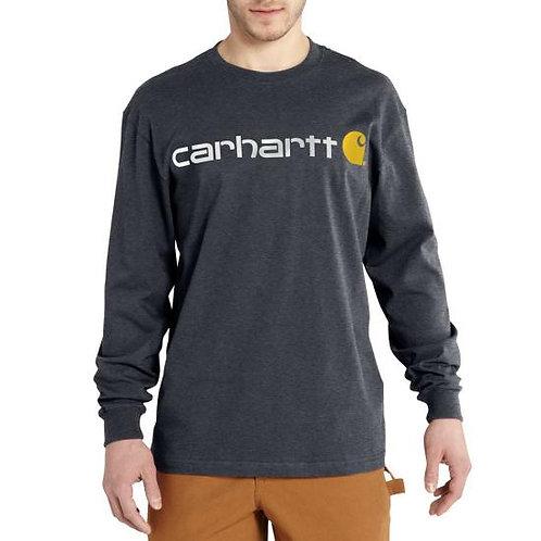 CARHARTT K298 LONG-SLEEVE LOGO T-SHIRT