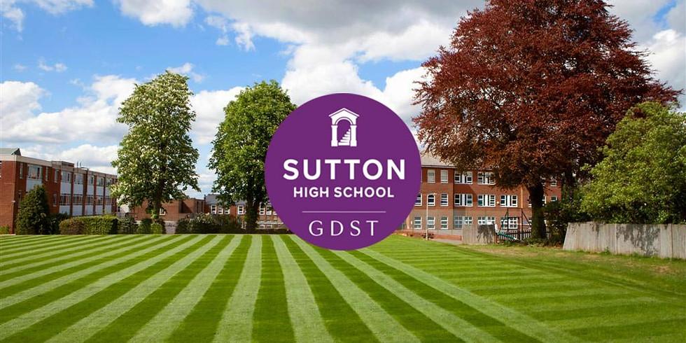 Sutton - Sutton High School Summer camp 2021