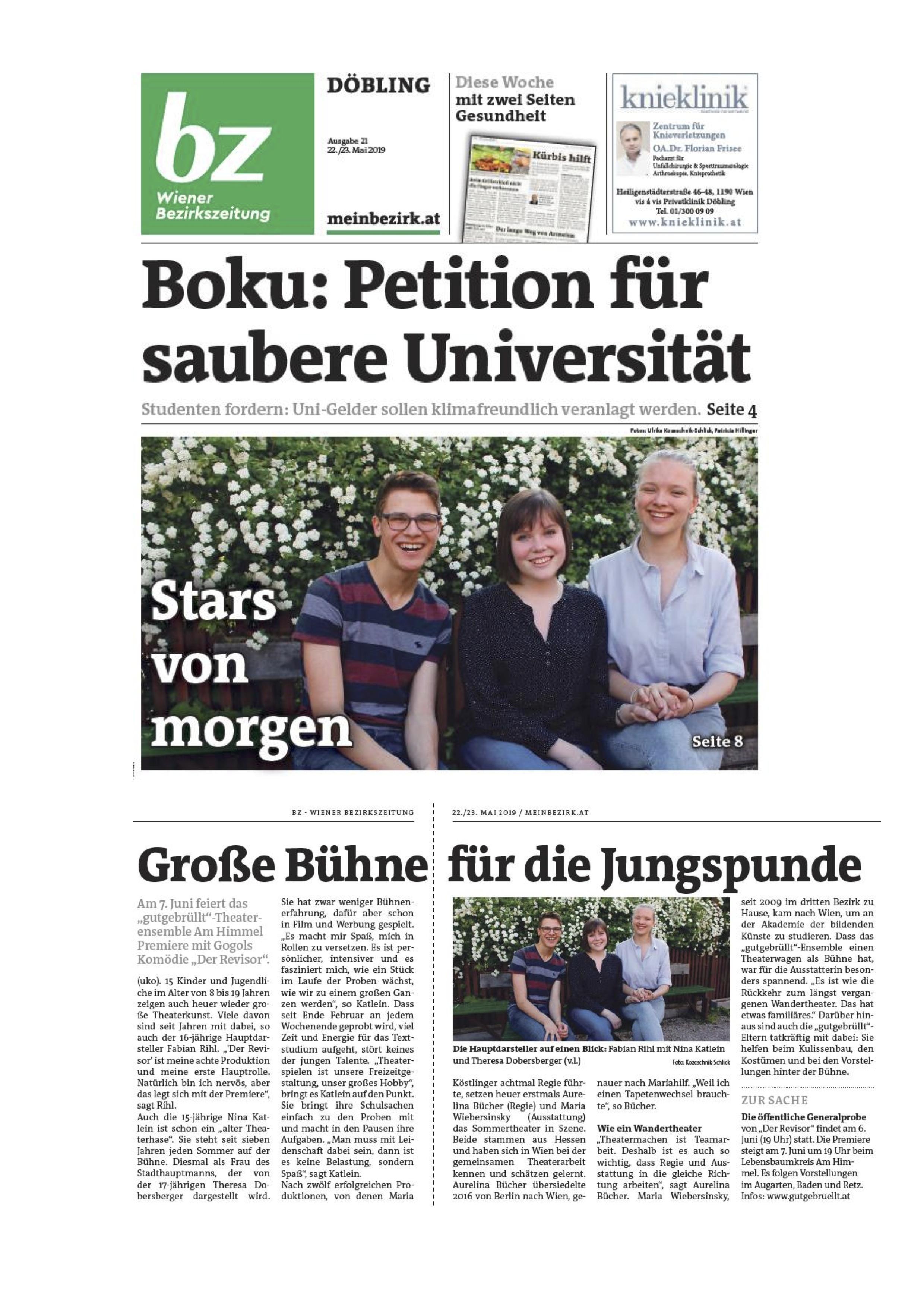 Wiener Bezirkszeitung