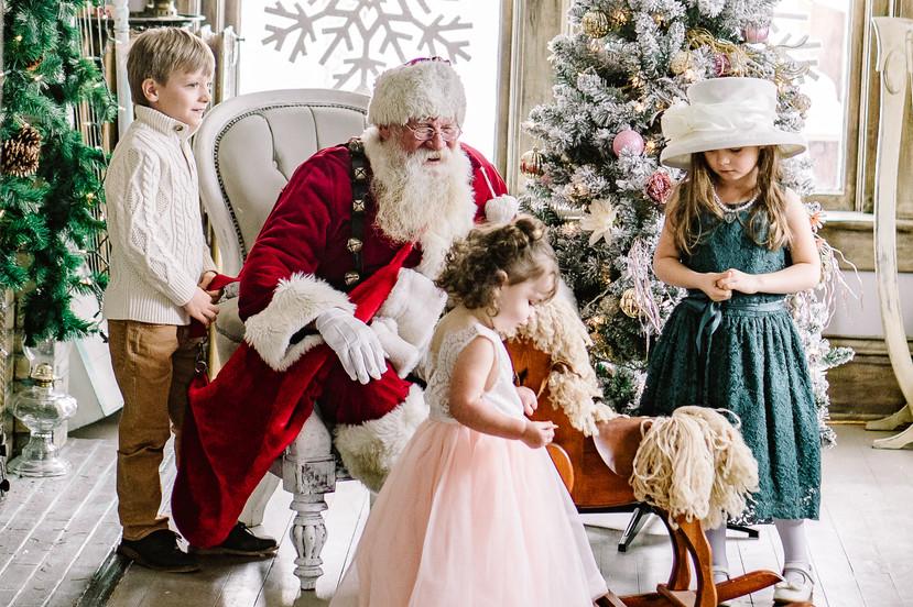 Santa session littleton