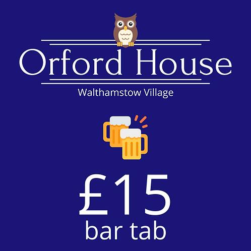 £15 Bar Tab