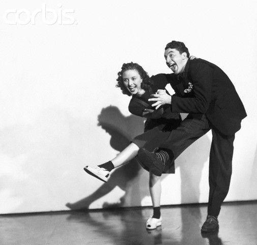 Couple Dancing Jitterbug 1939