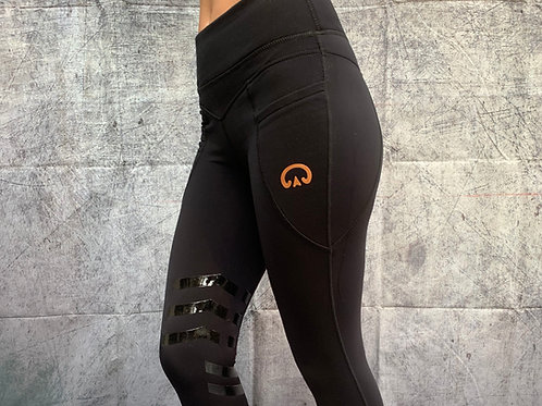 The Huff Equi-Legging | Black