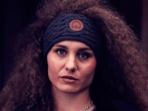 The Huff 100% Merino Wool Headband | Dark Grey