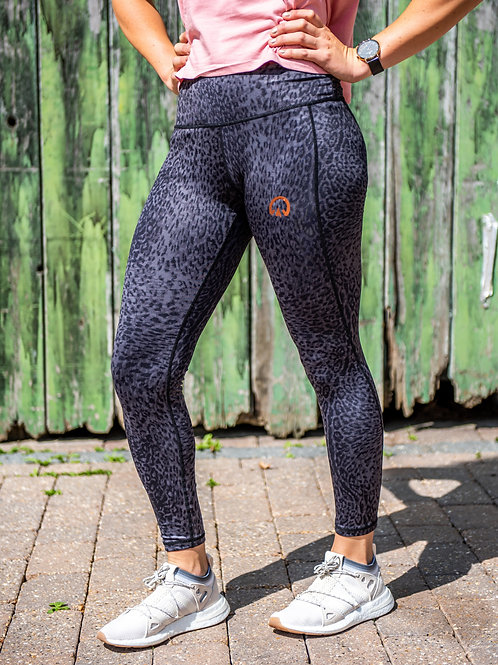 Leopard Print Power Leggings