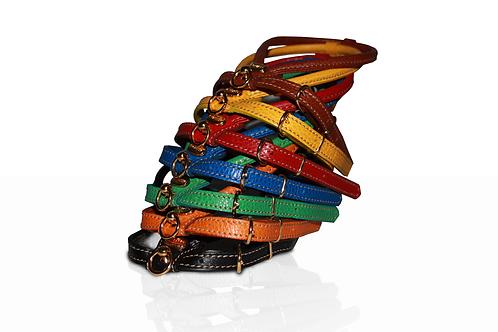 LA CINOPELCA | Italian Rolled Leather Harness