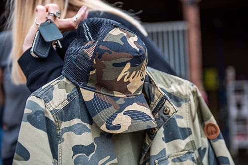 The Huff & Co Camo Cap