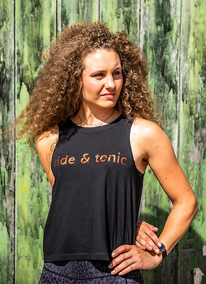 Ride & Tonic Tank | Black