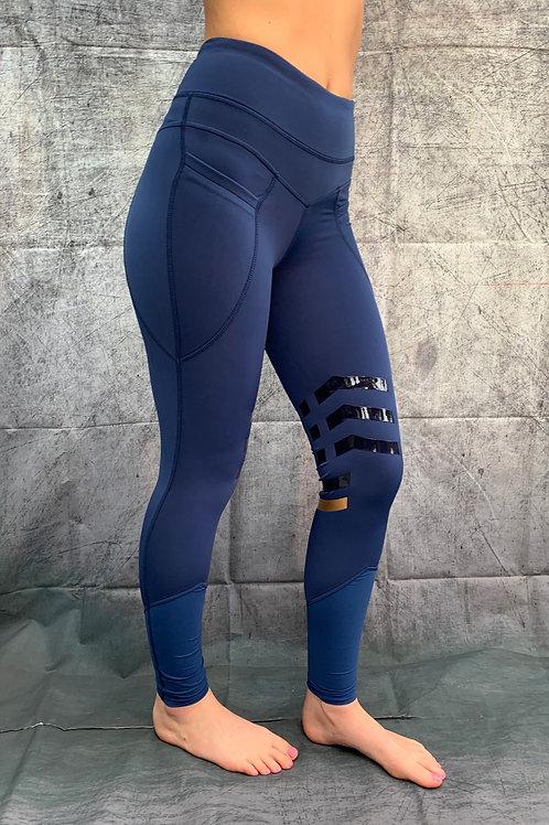 The Huff Equi-legging | Navy