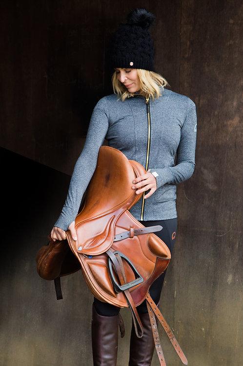 The Huff Zip Jacket | Graphite Grey