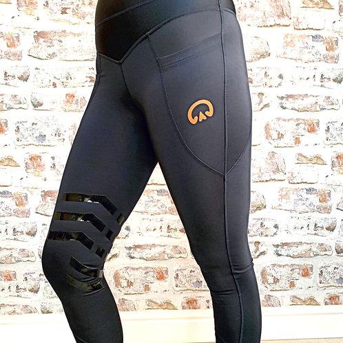 The Huff Equi-legging | Ink Navy