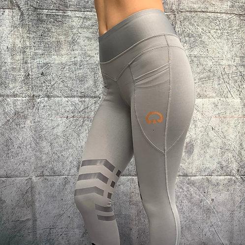 The Huff Equi-Legging   Grey