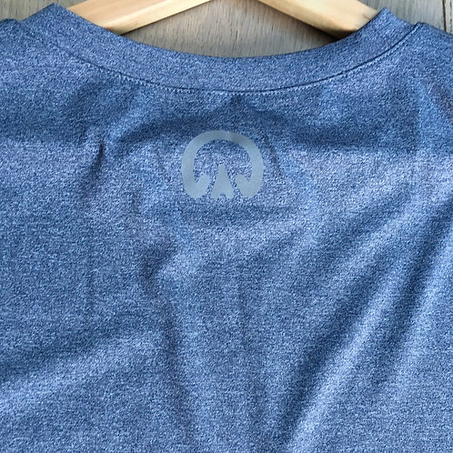The Huff Men's Base Layer   Blue