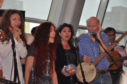 NYU with Pete Seeger