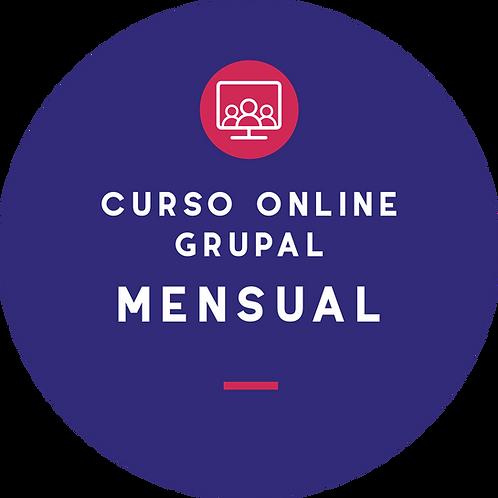 Curso online grupal - Plan mensual