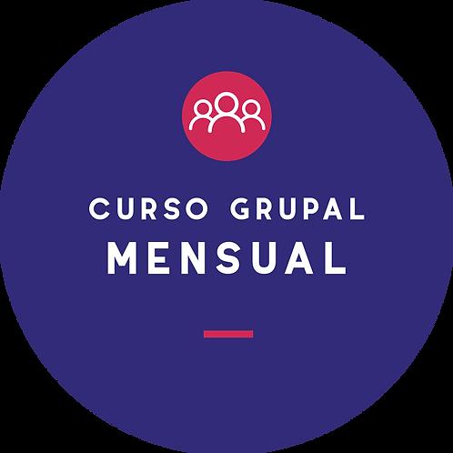Curso grupal - Plan mensual