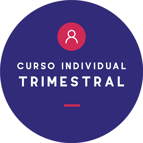 Curso individual - Plan trimestral