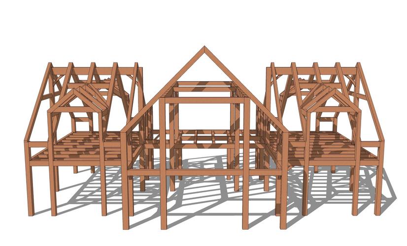 Newport timber frame