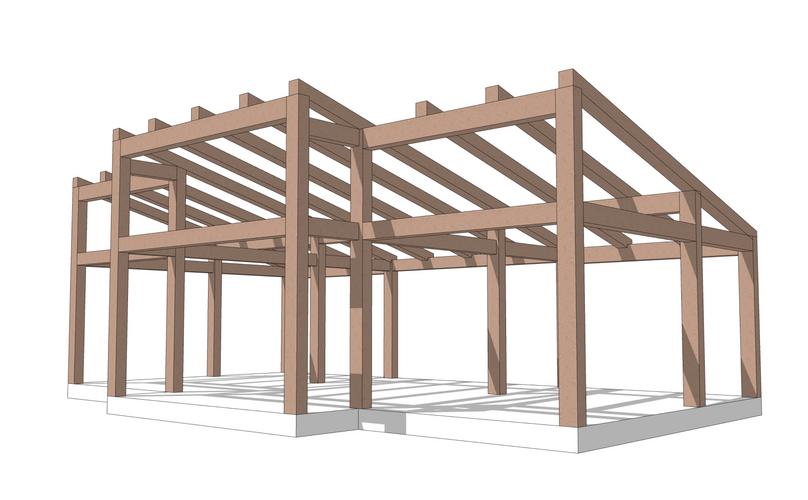 Taconic timber frame