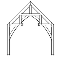 Hammerbeam Timber Frame Truss
