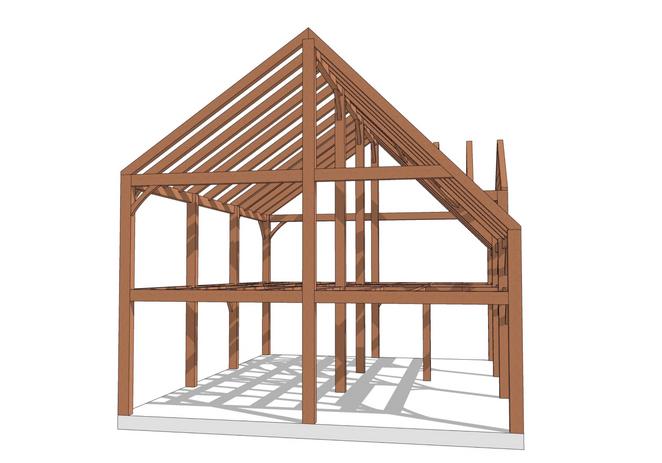 Huntington timber frame