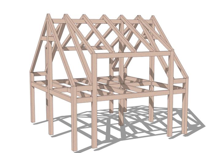 Warren timber frame
