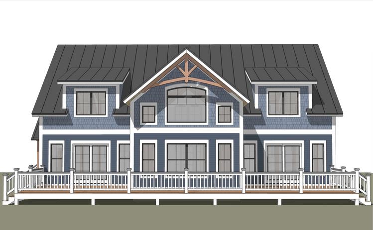 Champlain timber frame exterior