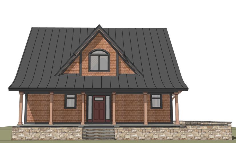 Cambridge timber frame exterior