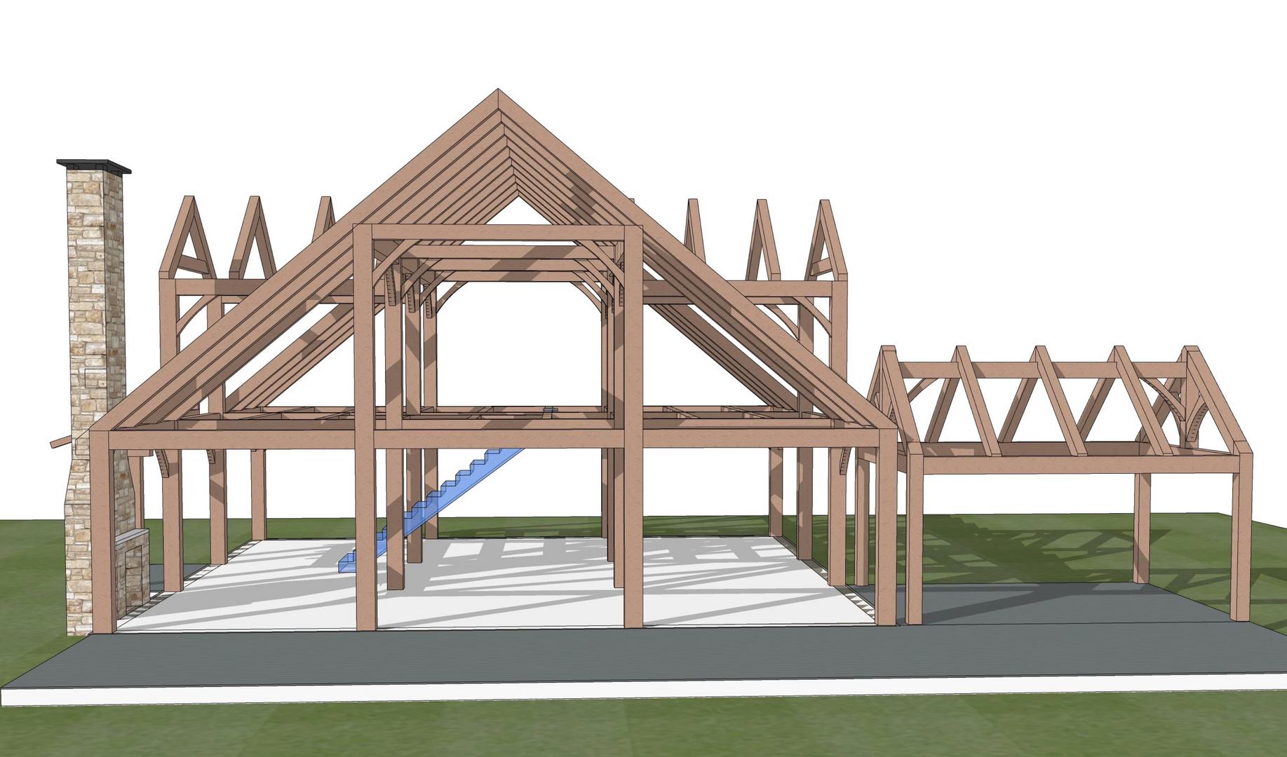 Batten Kill timber frame